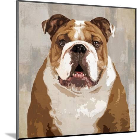 Bulldog-Keri Rodgers-Mounted Giclee Print