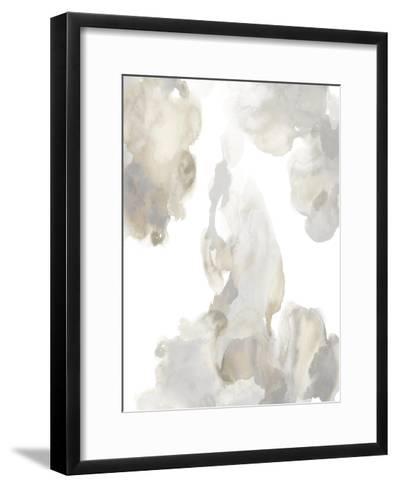 Elevate in Grey I-Lauren Mitchell-Framed Art Print