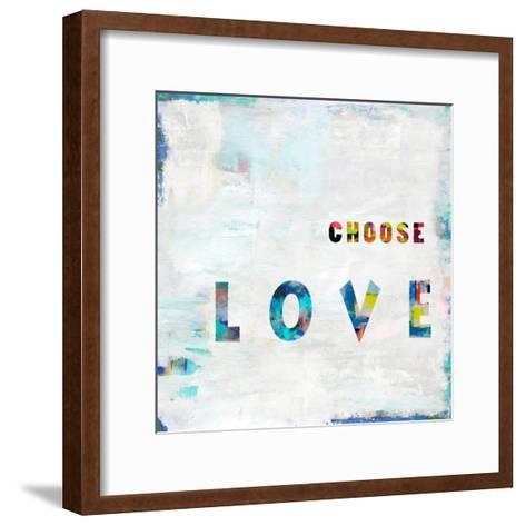 Choose Love In Color-Jamie MacDowell-Framed Art Print
