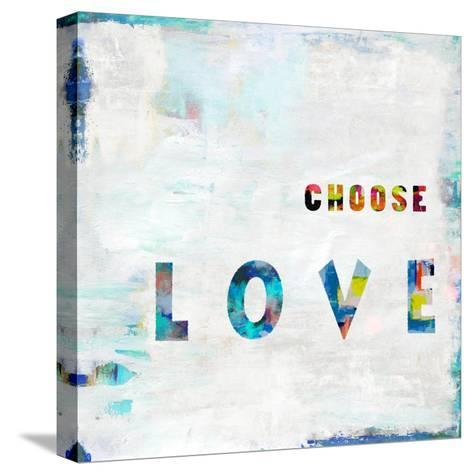 Choose Love In Color-Jamie MacDowell-Stretched Canvas Print