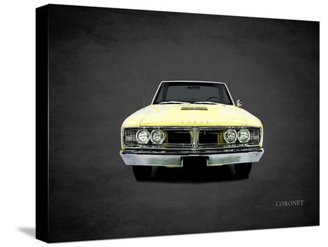 Dodge Coronet 1966-Mark Rogan-Stretched Canvas Print