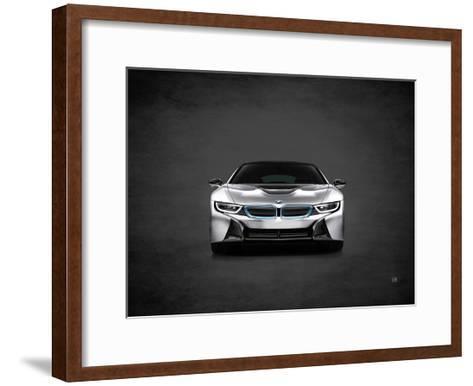 BMW i8-Mark Rogan-Framed Art Print