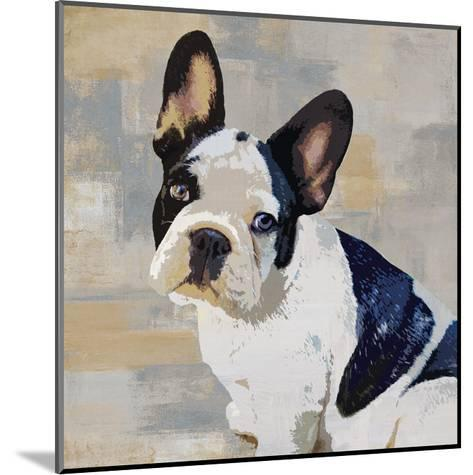 French Bulldog-Keri Rodgers-Mounted Giclee Print
