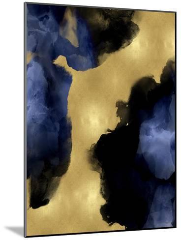Midnight Gold I-Lauren Mitchell-Mounted Giclee Print