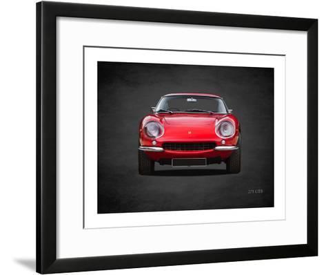 Ferrari 275 GTB 1966-Mark Rogan-Framed Art Print