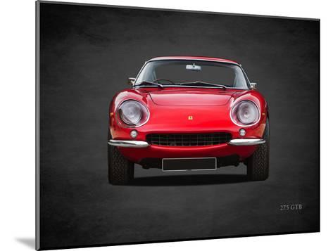 Ferrari 275 GTB 1966-Mark Rogan-Mounted Giclee Print