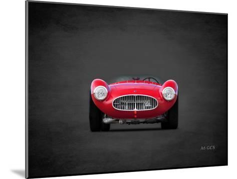 Maserati A6G 1953-Mark Rogan-Mounted Giclee Print
