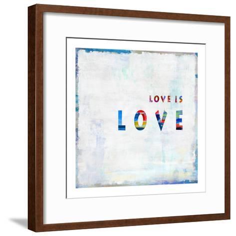 Love Is Love In Color-Jamie MacDowell-Framed Art Print
