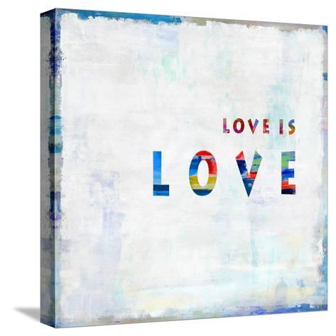 Love Is Love In Color-Jamie MacDowell-Stretched Canvas Print