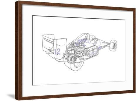 F1 Judd - Camel-Roy Scorer-Framed Art Print