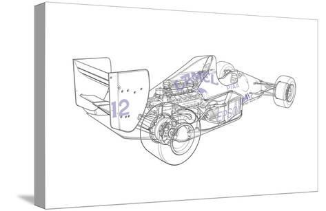F1 Judd - Camel-Roy Scorer-Stretched Canvas Print