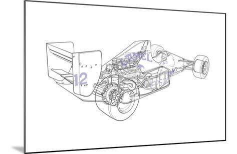 F1 Judd - Camel-Roy Scorer-Mounted Giclee Print