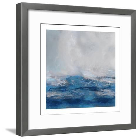Terra in Blues-Jake Messina-Framed Art Print