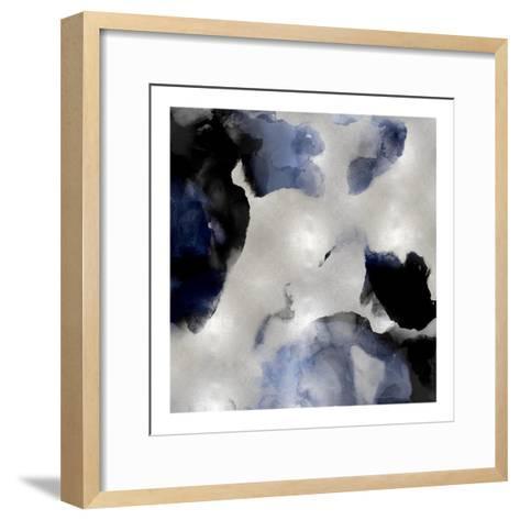 Whisper in Indigo II-Lauren Mitchell-Framed Art Print