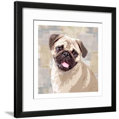Pug-Keri Rodgers-Framed Art Print
