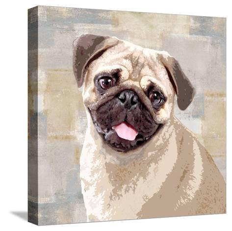 Pug-Keri Rodgers-Stretched Canvas Print