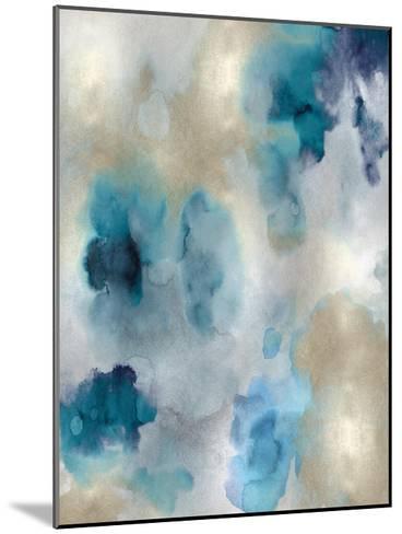 Whisper in Aqua II-Lauren Mitchell-Mounted Giclee Print