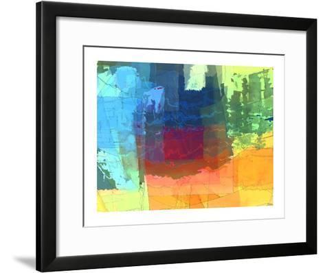 Pulsations I-Michael Tienhaara-Framed Art Print