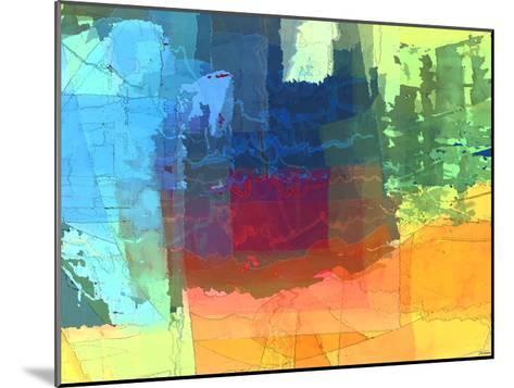 Pulsations I-Michael Tienhaara-Mounted Giclee Print