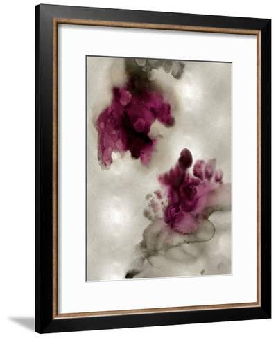 Tempting II in Silver-Lauren Mitchell-Framed Art Print