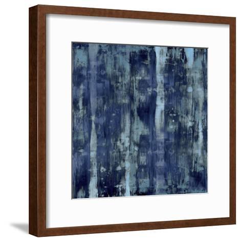 Variations in Blue-Justin Turner-Framed Art Print
