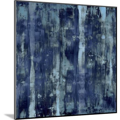 Variations in Blue-Justin Turner-Mounted Giclee Print