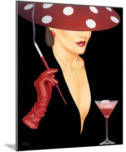 Spotted Hat Lady I-Gerard Kelly-Mounted Giclee Print
