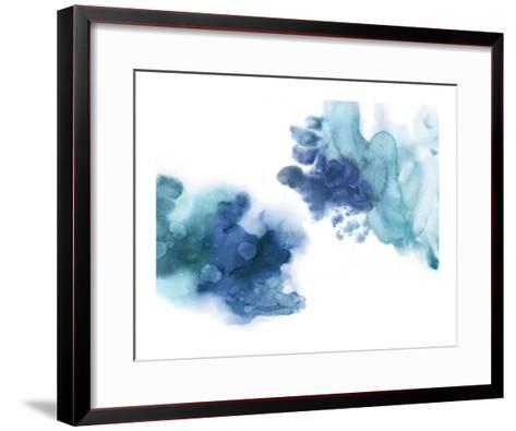 Tempting in Blue-Lauren Mitchell-Framed Art Print