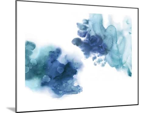 Tempting in Blue-Lauren Mitchell-Mounted Giclee Print