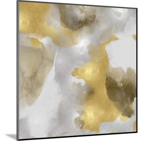 Whisper in Gold I-Lauren Mitchell-Mounted Giclee Print
