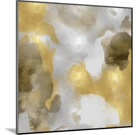 Whisper in Gold II-Lauren Mitchell-Mounted Giclee Print