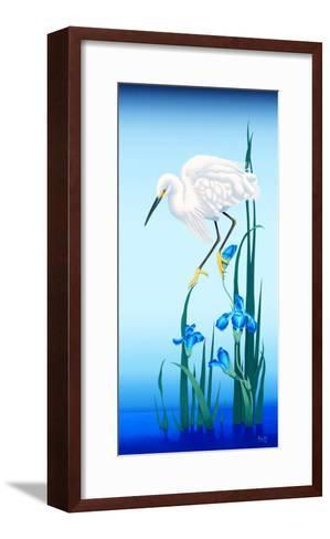 Spring Egret-Gerard Kelly-Framed Art Print