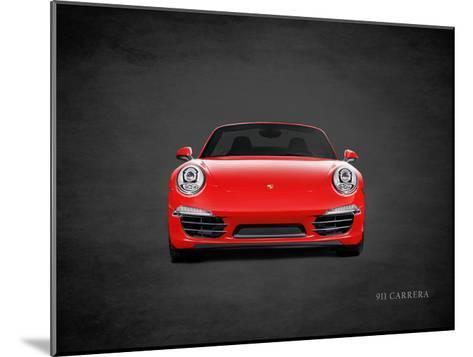 Porsche 911 Carrera-Mark Rogan-Mounted Giclee Print