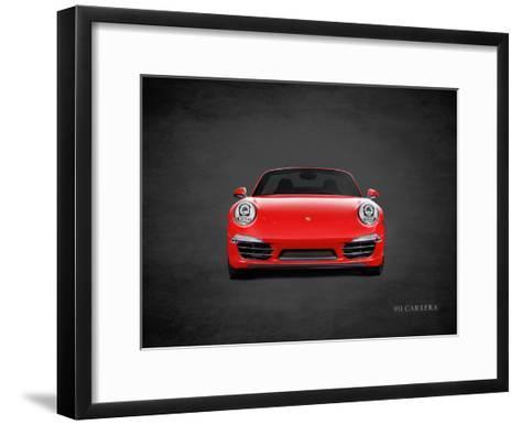 Porsche 911 Carrera-Mark Rogan-Framed Art Print
