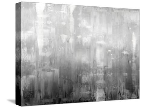 Textural in Grey-Justin Turner-Stretched Canvas Print