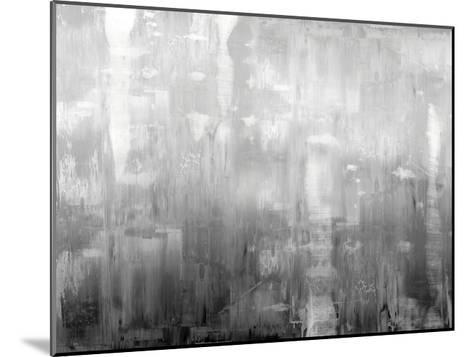 Textural in Grey-Justin Turner-Mounted Giclee Print