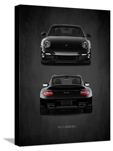 Porsche 911 Carrera Turbo-Mark Rogan-Stretched Canvas Print