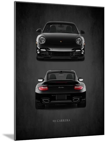 Porsche 911 Carrera Turbo-Mark Rogan-Mounted Giclee Print
