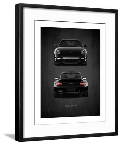 Porsche 911 Carrera Turbo-Mark Rogan-Framed Art Print