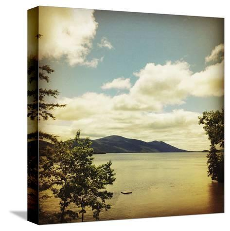 Lakescape Lake George-Gizara-Stretched Canvas Print