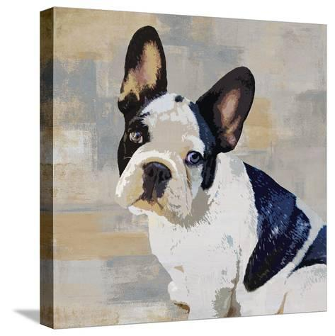 French Bulldog-Keri Rodgers-Stretched Canvas Print