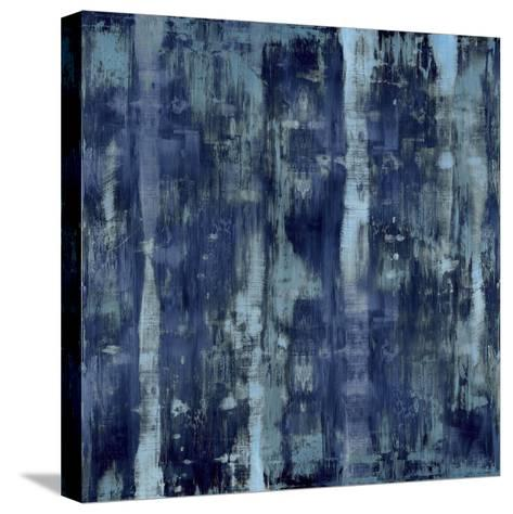 Variations in Blue-Justin Turner-Stretched Canvas Print