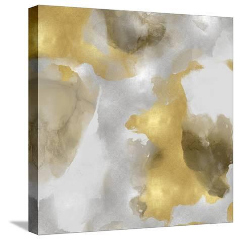 Whisper in Gold I-Lauren Mitchell-Stretched Canvas Print