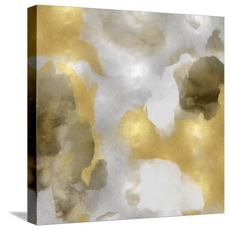 Whisper in Gold II-Lauren Mitchell-Stretched Canvas Print