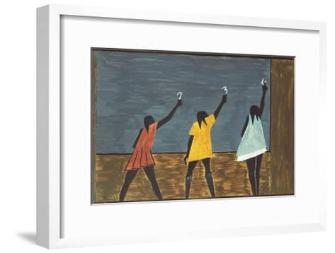 The Migration Series, No. 58, 1941-Jacob Lawrence-Framed Art Print