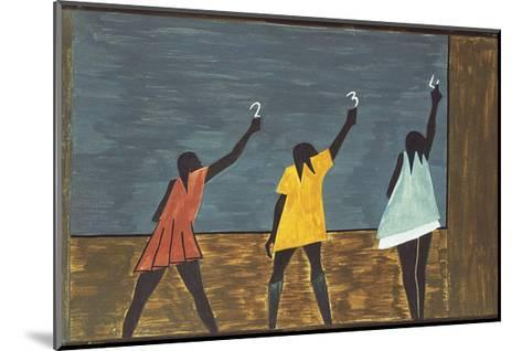 The Migration Series, No. 58, 1941-Jacob Lawrence-Mounted Art Print