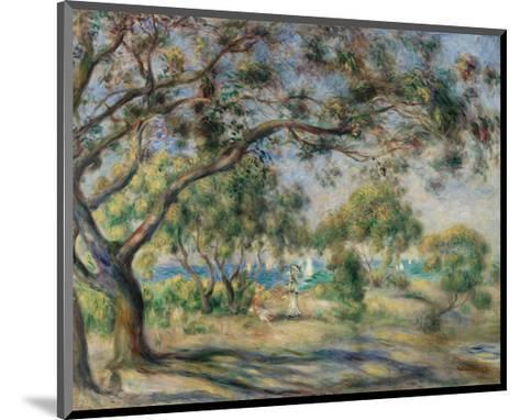 Bois de la Chaise (Noirmoutier), 1892-Pierre-Auguste Renoir-Mounted Art Print