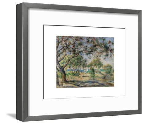 Bois de la Chaise (Noirmoutier), 1892-Pierre-Auguste Renoir-Framed Art Print