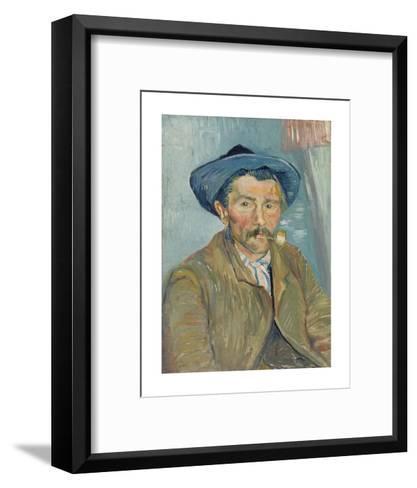 The Smoker (Le Fumeur), 1888-Vincent van Gogh-Framed Art Print