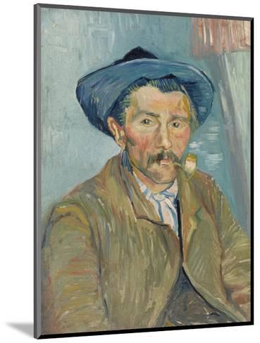The Smoker (Le Fumeur), 1888-Vincent van Gogh-Mounted Art Print